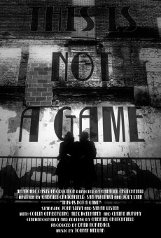 This Is Not A Game Poster (WEB)